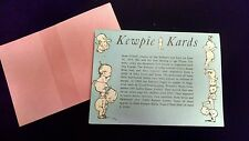 32 in book Rose O'Neill Repro from 1970s Postcard KEWPIE KARDS FREE SHIP