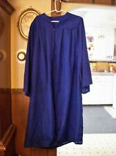 "OAK HALL Bachelor  -  Blue GRADUATION GOWN Robe 5'9"" to 5'11"" Costume"