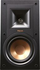 "Klipsch - Reference 5-1/4"" Bookshelf Speakers (Pair) - Black R-15M(Latest Model)"