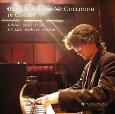 Ryan MacEvoy McCullough in Concert, solo piano, Yarlung Records, New Music