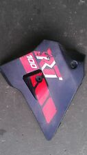 1990 YAMAHA RT100 LEFT GAS TANK FAIRING PLASTIC SHROUD