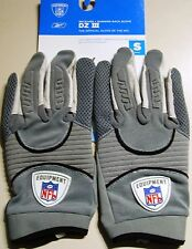 Reebok Nfl Equipment GLOVES DZ III col, TG S, Grigio receiver + RB