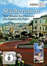 2 DVDs * STÄDTEREISEN - New Orleans, San Francisco, Los Angeles  # NEU OVP ~