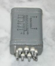 Vintage Raytheon Tube Mic Preamp  Input Transformer 50/125/250/500 to 30k OHMS