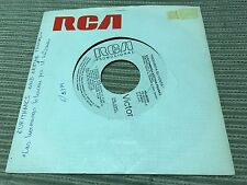 "EURYTHMICS - SPANISH 7"" SINGLE SPAIN WHITE LABEL RCA 85 - SISTERS ARE DOIN' IT"