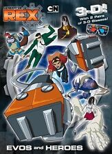 Generator Rex - Evos and Heroes by Billy Wrecks (2011, Paperback) - 3-D Glasses