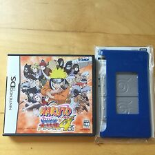 NintendoDS Naruto Ninja Council 4 w/ Ninja headband cover f/ 1st DS Japan (Used)