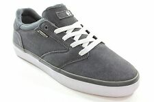 New ETNIES Mens Freeport Skate Shoes Dark Grey Size 9 Suede DR1
