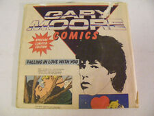 GARY MOORE Falling In Love With You Ex+ UK 1980s Comic Sleeve 7""