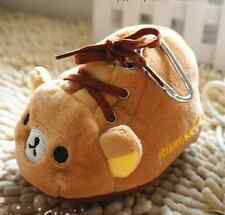 Shoe San-X Rilakkuma Relax Bear Change Coin key Purse bag soft Case Cute Kawaii