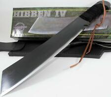 United Gil Hibben IV Rambo Machete Knife Survival Combat Hunting Knives with COA