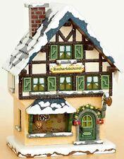 Hubrig Volkskunst,Winterhaus Zuckerbäckerei,WiKi,Miniatur  Erzgebirge 400h0006
