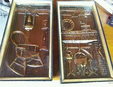 Vintage Turner Wall Accessory 2 pcs.