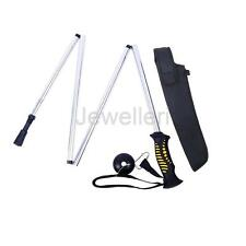 Collapsible Wading Staff Hiking Fishing Stick with Nylon Carry Pouch 139cm