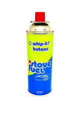 Whip It Stove Fuel Butane - Portbale Camping Cooking - NEW- High Performance 8oz