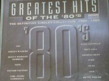 GREATEST HITS OF THE 80's - The definitive Singles Collection 1980-1989 (2 CD)