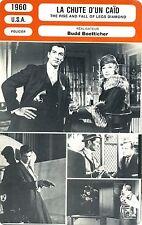 Fiche Cinéma. Movie Card. La chute d'un caïd (USA) 1960 Budd Boetticher