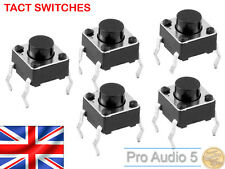 10x Akai MPC Tactile Switch for 1000, 2000, 2000XL, 4000 - Tact Swith - 10pcs UK