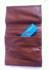 NEW SOFT BROWN POCKET TOBACCO POUCH FOR DRY HERB ALL SMOKING ACCESSORIES