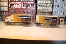 MB 2235 Koffer-Lastzug von Grauthoff in OVP (Wiking/F 96, Rs 720, Bi 1