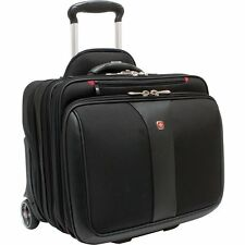 Wenger Swissgear Patriot 2 pc Wheeled Computer Laptop Carrying Case WA-7953-02F0