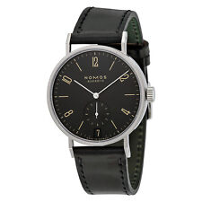 Nomos Tangomat Ruthenium Datum Deep Black Dial Mens Watch 604