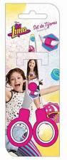 Disney Soy Luna Schere Kinderschere Bastelschere Metallschere rund Scissors