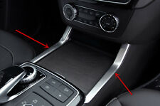 Interior Console Water Cup Holder Cover Trim For Mercedes Benz GL X166 ML W166