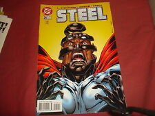 STEEL #25   Death Of Superman spin-off     DC Comics 1996 -  NM