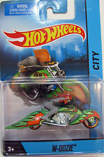 HOT WHEELS MOTOR CYCLES - CITY W-OOZIE NEW COLOR 1:64 SC