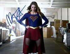 SEXY GLOSSY PRINT - SUPERGIRL - SIGNED BY MELISSA BENOIST - DC COMICS CHARACTER