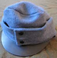 WWI AUSTRO-HUNGARIAN 1916 INFANTRY BLUE WOOL FIELD CAP-XLARGE