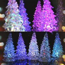 Icy Crystal Color Changing LED Christmas Tree Decoration Light XMAS Night Light