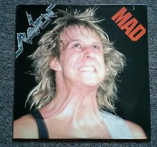 RAVEN Mad 1986 Atlantic Records Vinyl EP LP •  NWOBHM Anvil Saxon