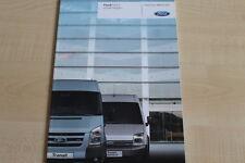 160731) Ford Transit Kastenwagen Prospekt 08/2006