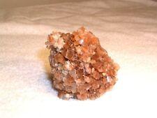 Aragonite crystal cluster all natural bigger red caramel colors 2.5x2 inch c33