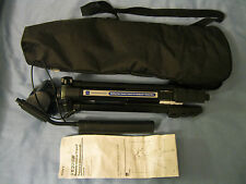 NEW SONY HANDYCAM VCT-60AV REMOTE CONTROL CAMCORDER TRIPOD with Bag & Manual