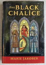 The Black Chalice by Marie Jakober HC Edge It's 1134 in a bleak monastery
