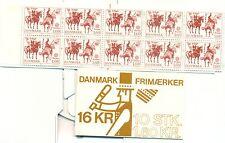 EUROPA CEPT - DENMARK 1981 Folklore Mi. 730 booklet