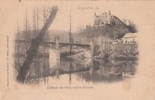 ARGENTON château du pally sur la creuse photo-éd mabire