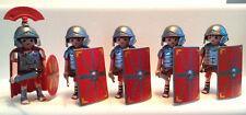 PLAYMOBIL ROMANS BUNDLE - 4 ROMAN SOLDIERS AND CENTURION