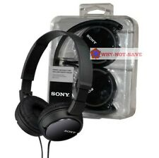 Sony MDR-ZX110 Stereo Monitor Foldable Headband Overhead 3.5MM MP3 Headphones