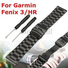 2016 Metal Stainless Steel Bracelet Watch Wrist Band Strap for Garmin Fenix 3/HR