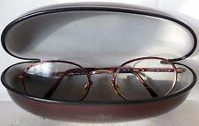 Giorgio Armani brown metal  round Eyeglasses frames   52 20   135