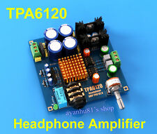 Audiophile-niveau hifi TPA6120 amplificateur de casque amp board diy kit dual 12V-20V