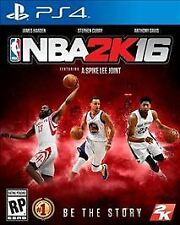 NBA 2K16 (Sony PlayStation 4, 2015) *James Harden Cover*