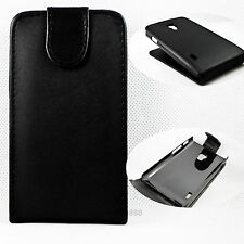 Hot Flip Leather Hard Popular Holster Back Case Cover For LG Optimus L7 II P710