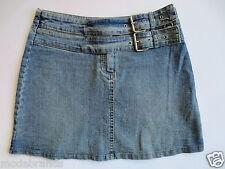 Stretch Jeansrock AMISU Mini Jeans Rock 36 S denim blue used TIP TOP/I2