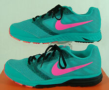 "New Womens 10.5 NIKE ""Zoom Fly"" Hyper Jade Pink Running Shoes $90"