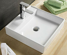 Bathroom Porcelain Ceramic Vessel Sink With Drain 7657*Faucet not included*